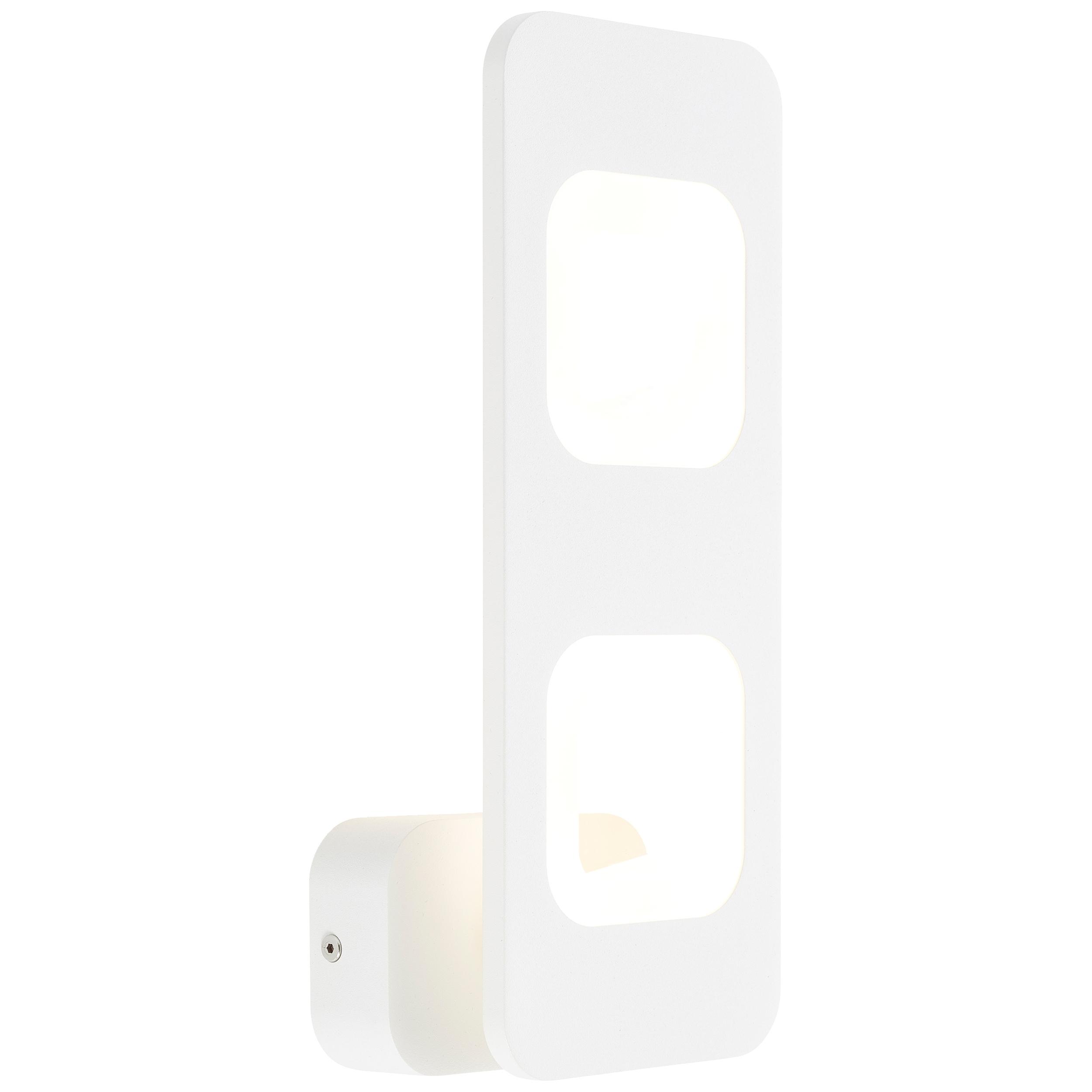 AEG Callida LED Wandleuchte 2flg sand/weiß