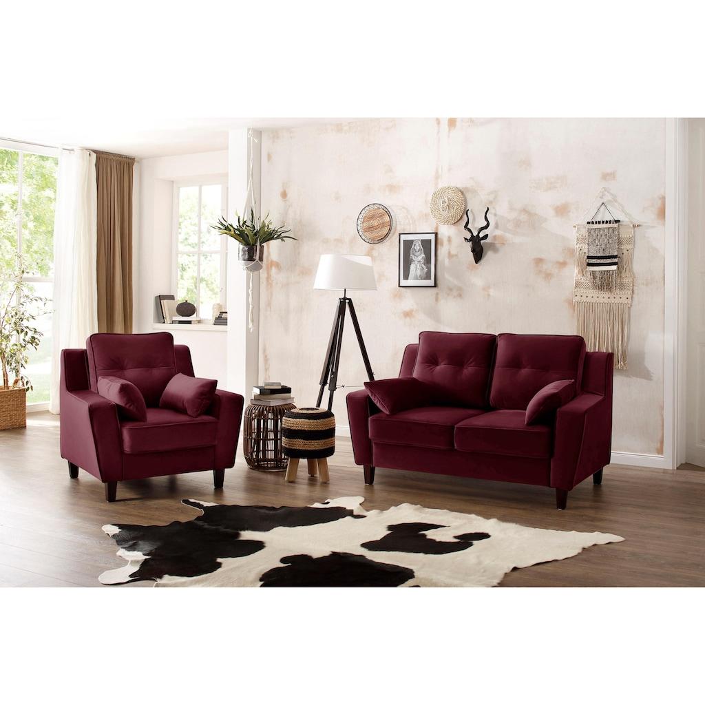 Home affaire Sessel »Dione«, mit hohem Sitzkomfort