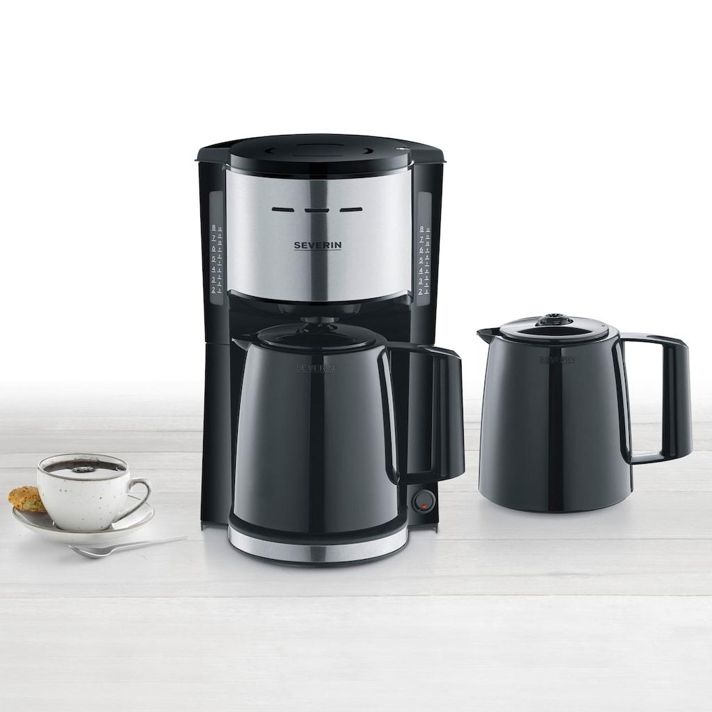 Severin Filterkaffeemaschine »KA 9253«, 1x4, mit 2 Thermokannen
