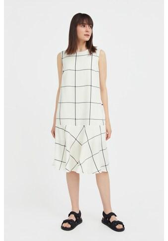 Finn Flare Jerseykleid, mit Karomuster kaufen