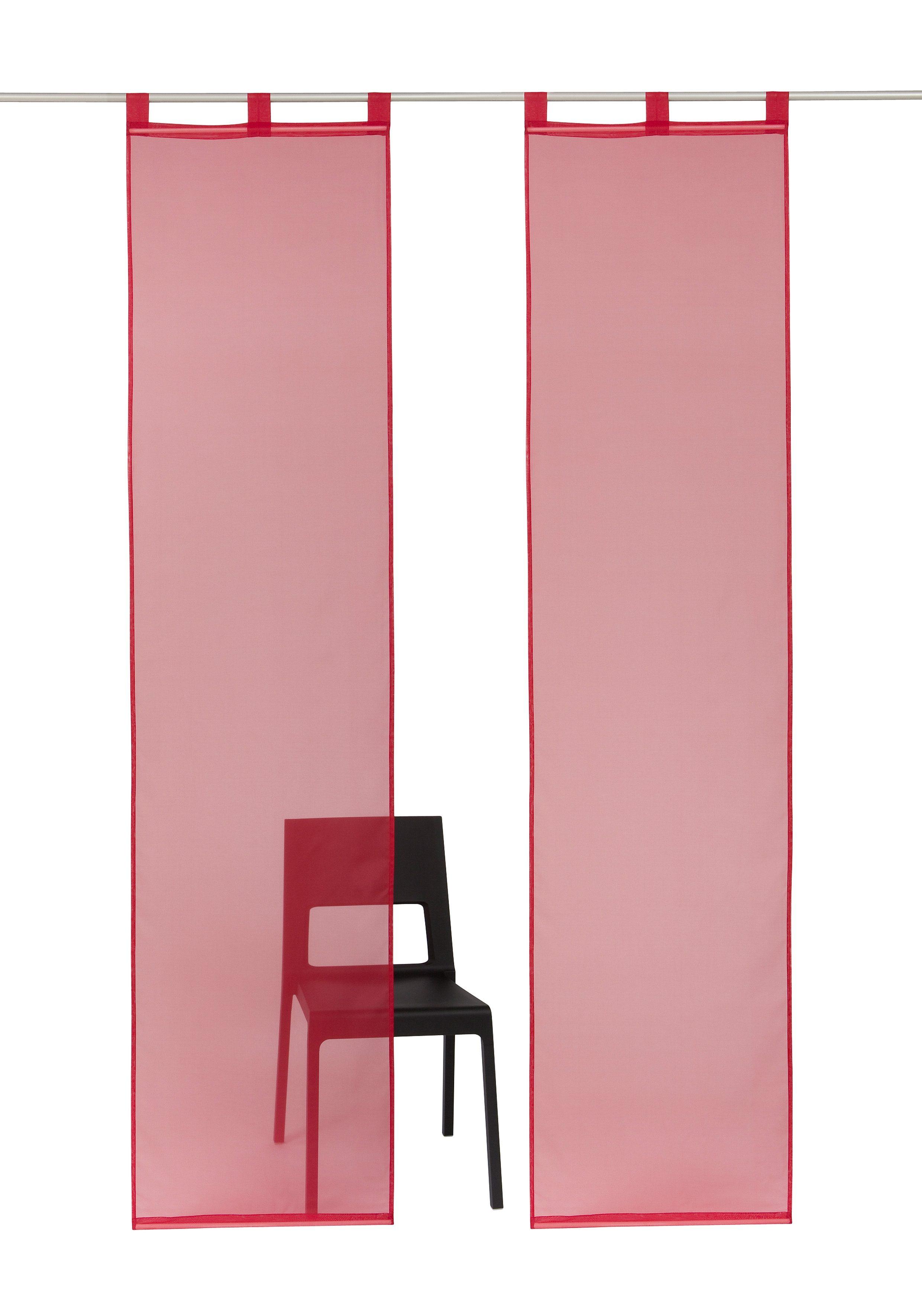 Dunkelrot Schiebegardinen Und Schiebevorhänge Online Kaufen Möbel