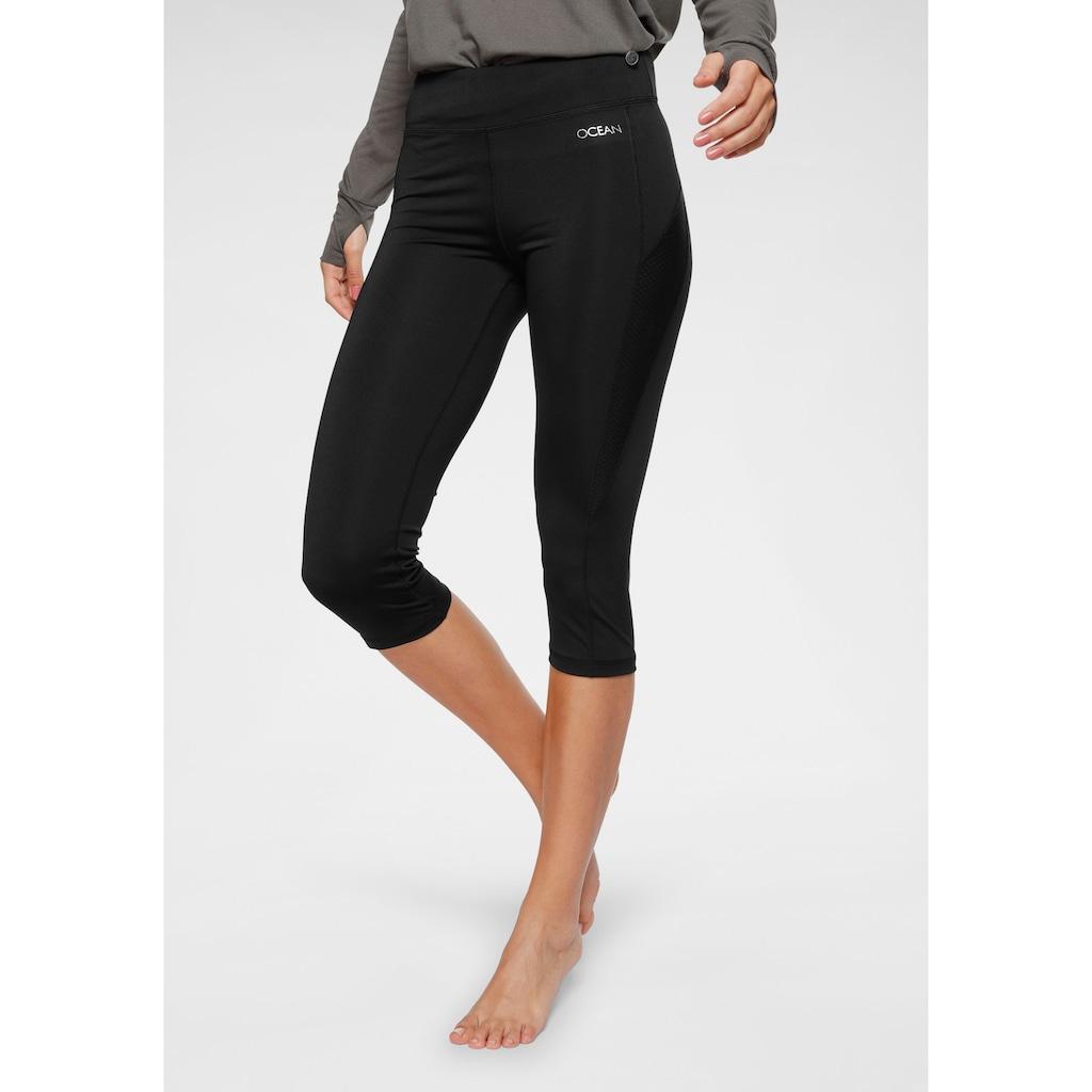 Ocean Sportswear Yogatights »3/4 Yoga-Tights«, mit Mesh-Einsätze