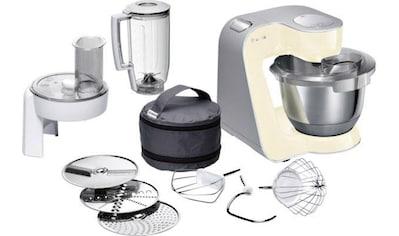 BOSCH Küchenmaschine »MUM5 CreationLine MUM58920«, 1000 W, 3,9 l Schüssel, vielseitig... kaufen
