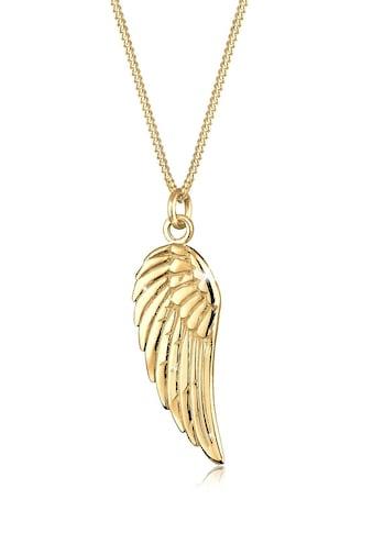 Elli Collierkettchen »Flügel Boho 925 Sterling Silber« kaufen