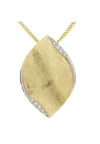 Orolino Anhänger mit Kette »585/ -  Gold Brillant SI Vollschliff Rund« kaufen