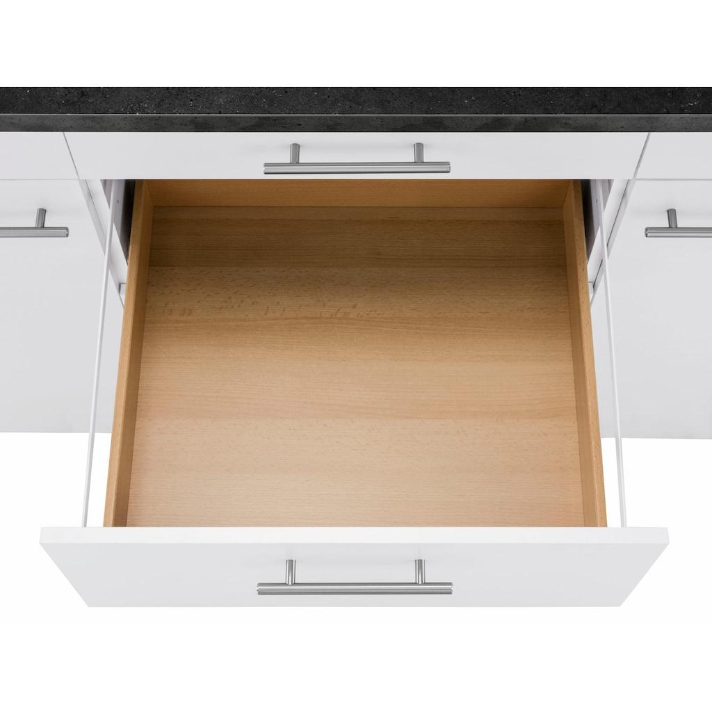 OPTIFIT Unterschrank »Mini«, Breite 180 cm mit Metallgriffen