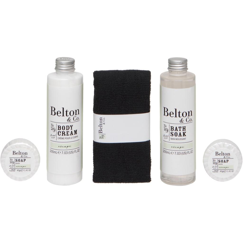 Pflege-Geschenkset »Belton & Co - Escape Bath & Body Set«, (5 tlg.)