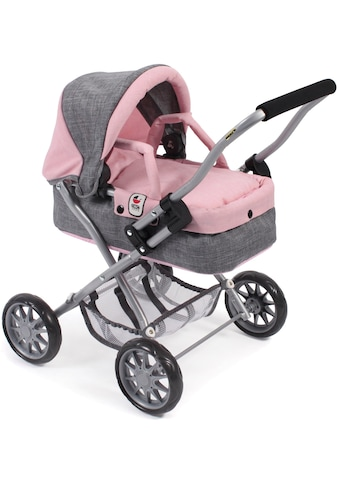 """CHIC2000 Puppenwagen """"Mini - Kuschelwagen Smarty, grau - rosa"""" kaufen"""