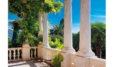 Komar Fototapete »Villa Liguria«, bedruckt-Meer-Wald, ausgezeichnet lichtbeständig kaufen