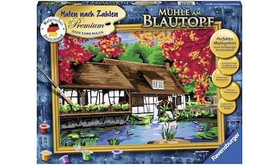 Ravensburger Malen nach Zahlen »Mühle am Blautopf«, Made in Europe, FSC® - schützt Wald - weltweit kaufen