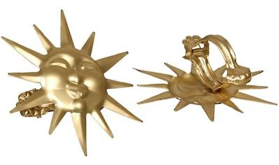 Dekoklammer »Sonne«, Liedeco, passend für Gardinen Vorhänge (Packung) kaufen