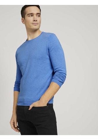 TOM TAILOR Strickpullover »Basic Pullover« kaufen