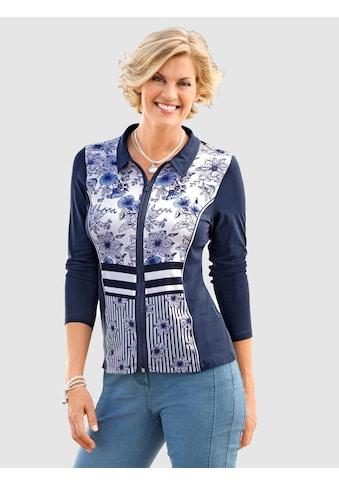 Paola Shirtjacke mit Blütendruck kaufen