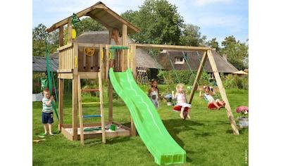 Jungle Gym Spielturm »Jungle Chalet«, BxTxH: 414x393x310 cm kaufen