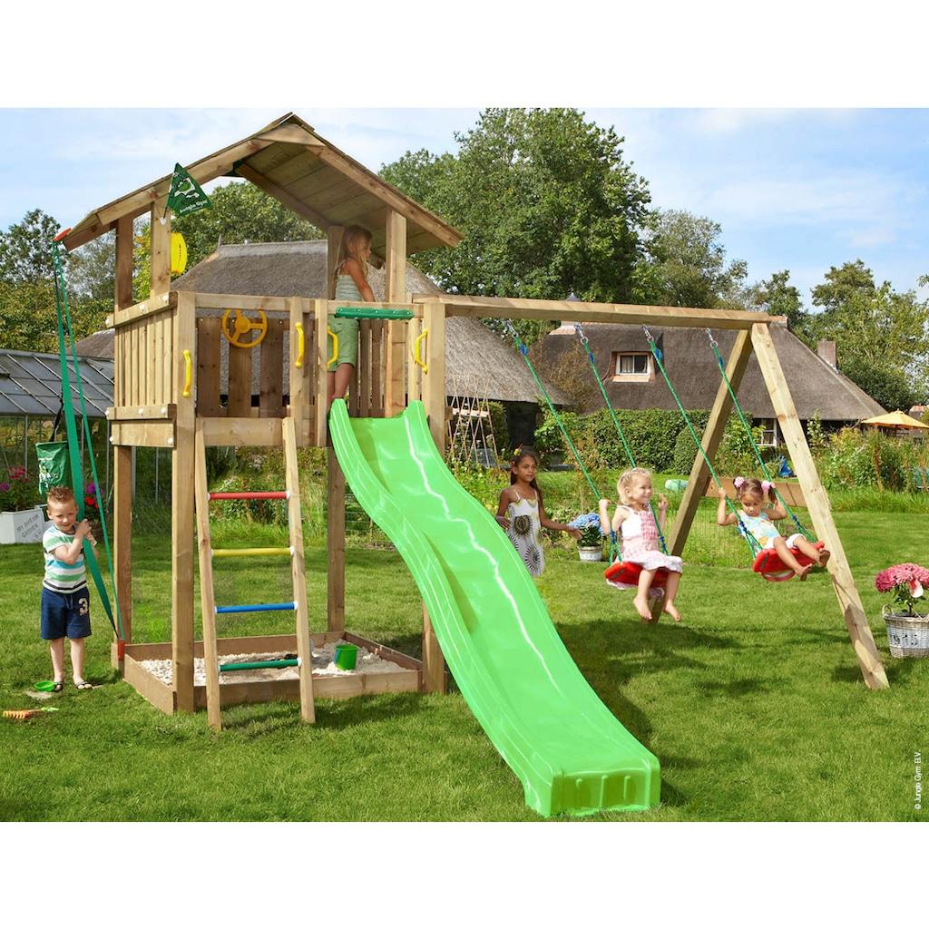 Jungle Gym Spielturm »Jungle Chalet«, BxTxH: 414x393x310 cm