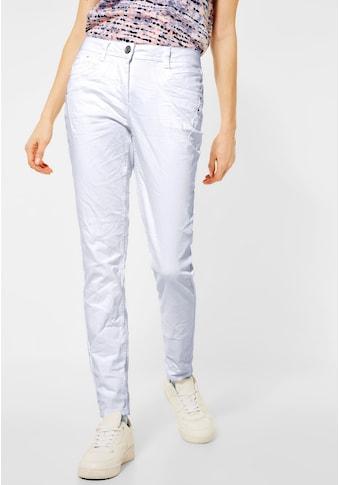 Cecil Comfort-fit-Jeans, mit Crash-Effekt kaufen