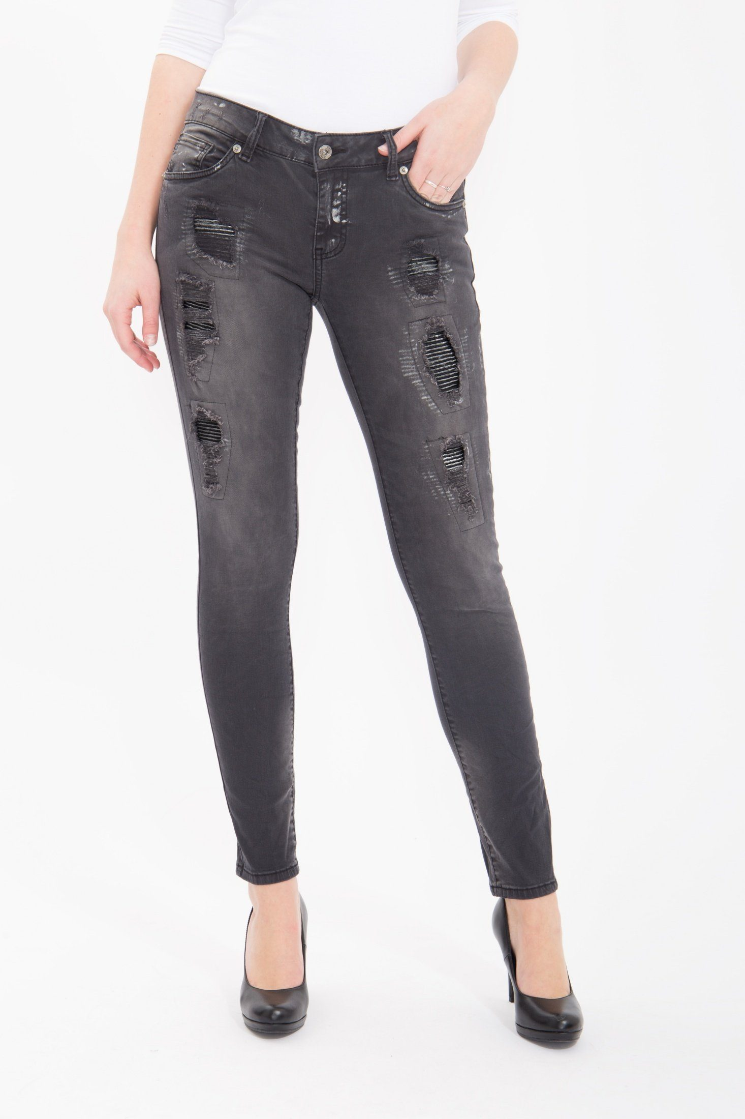 Blue Monkey Skinny-fit-Jeans Honey 1676 | 04251484618007