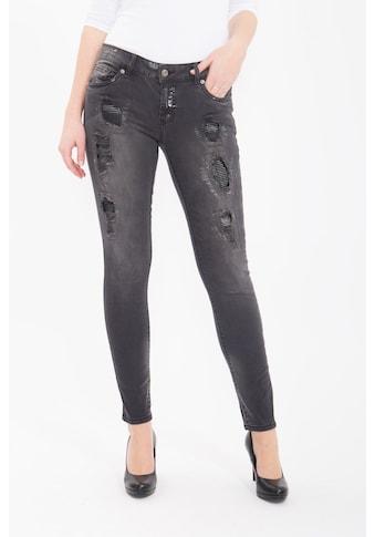 Blue Monkey Skinny - fit - Jeans »Honey 1676« kaufen