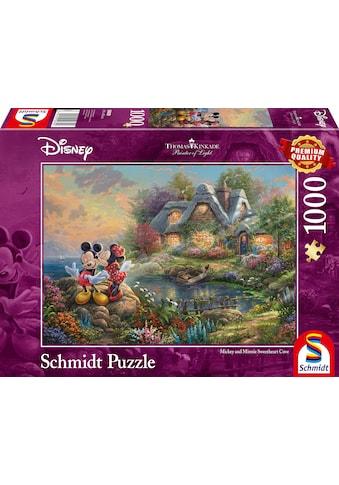 """Schmidt Spiele Puzzle """"Disney, Sweethearts Mickey & Minnie"""" kaufen"""