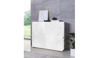 LC Highboard »Miro«, Breite 121 cm mit dekorativem Siebdruck kaufen
