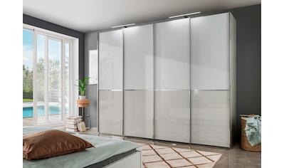 WIEMANN Schwebetürenschrank »Shanghai«, mit Panorama-Tür und Glasfront kaufen