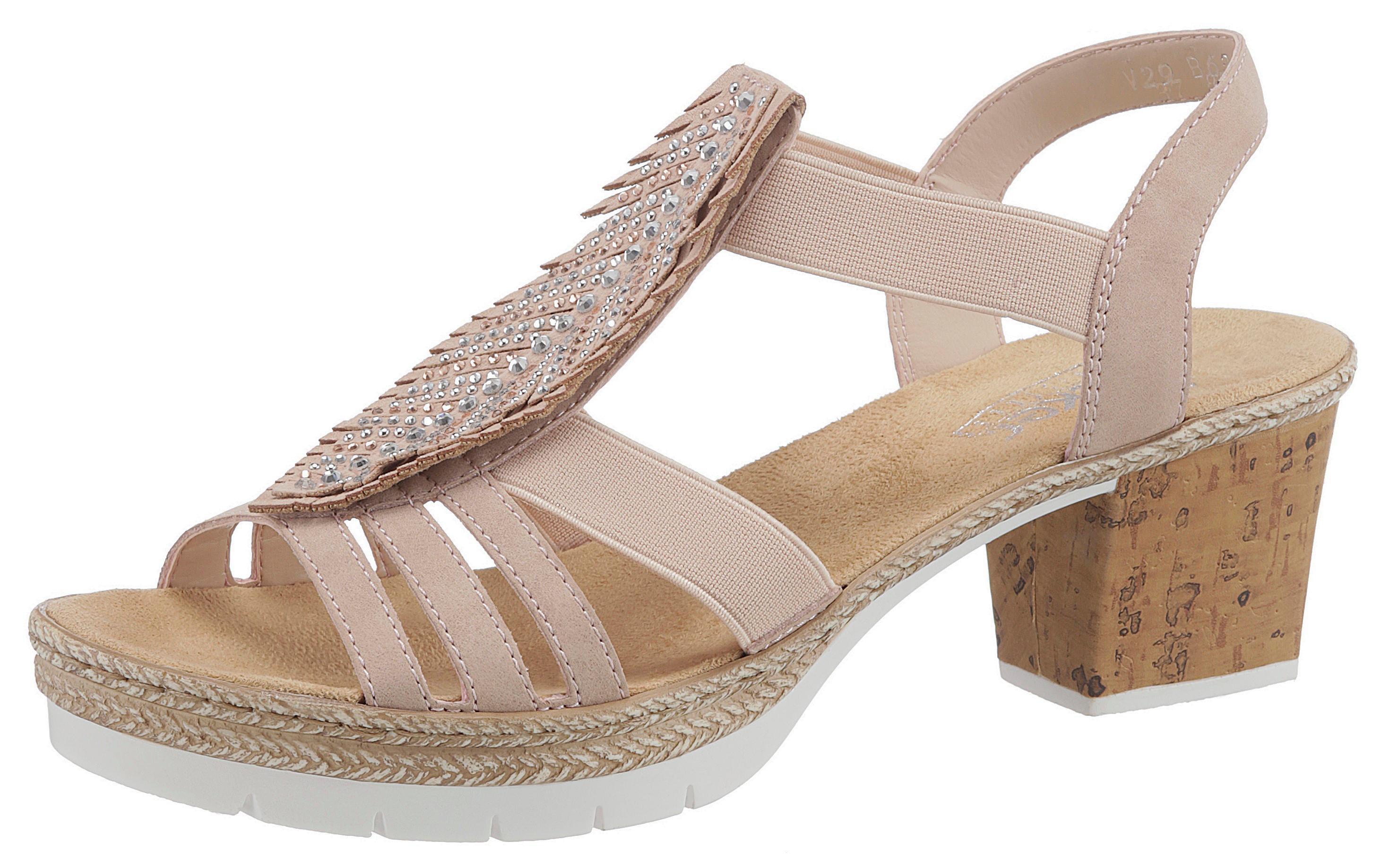 brand new 2e91a 765a1 Details zu Sandalette Rieker Damenmode Elegante Sandaletten Damen Sandalen