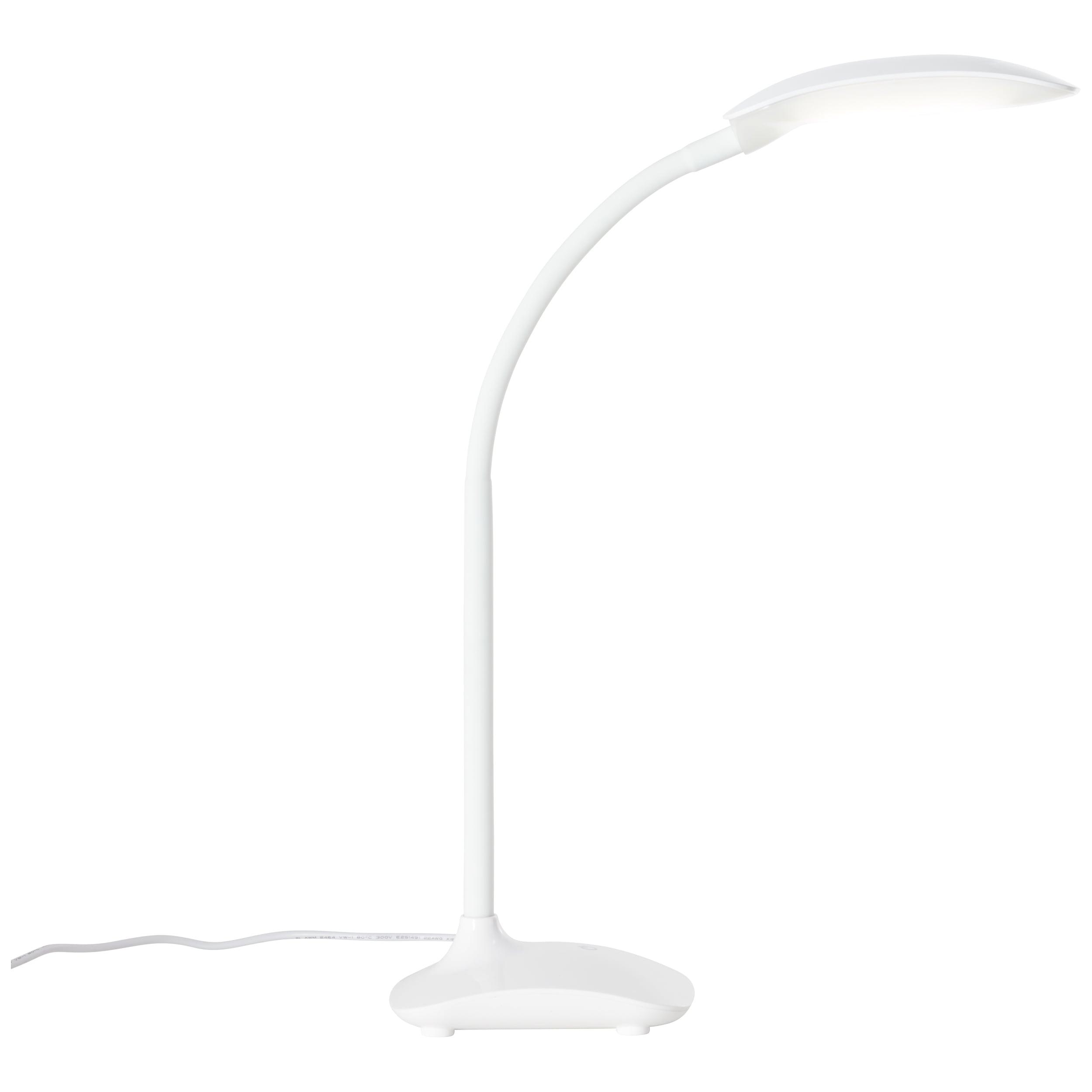 Brilliant Leuchten Kalle LED Tischleuchte weiß
