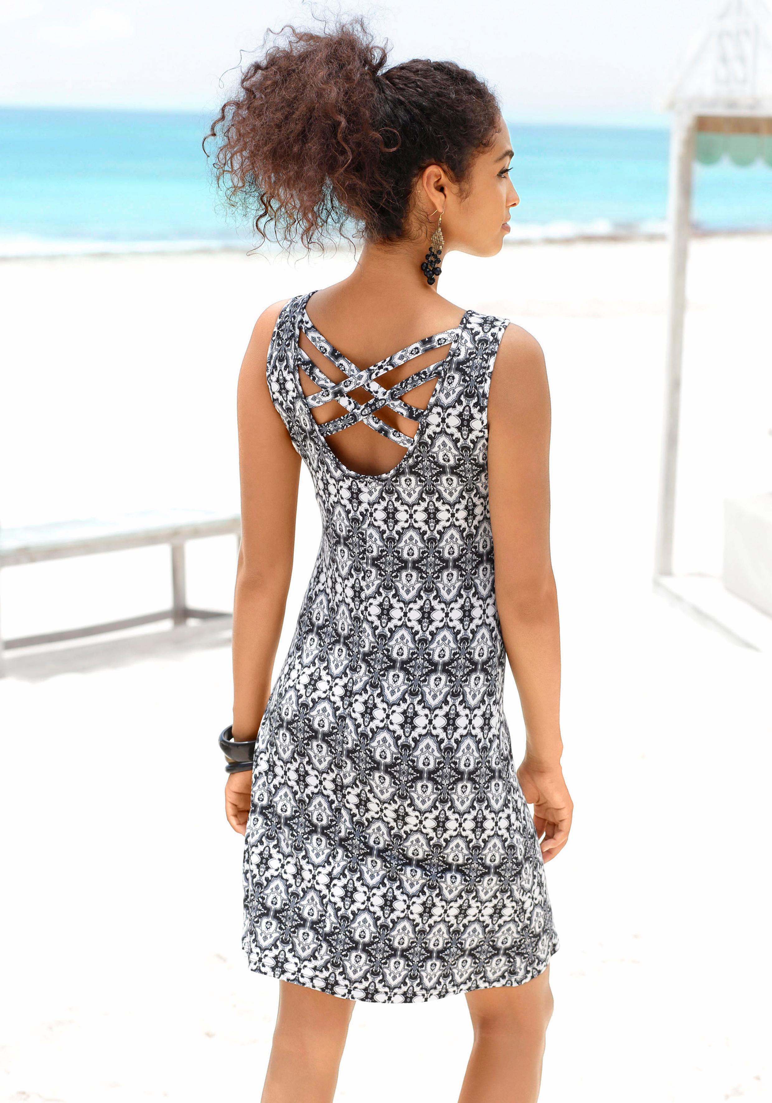 Buffalo Strandkleid Damenmode/Bekleidung/Kleider/Knielange Kleider