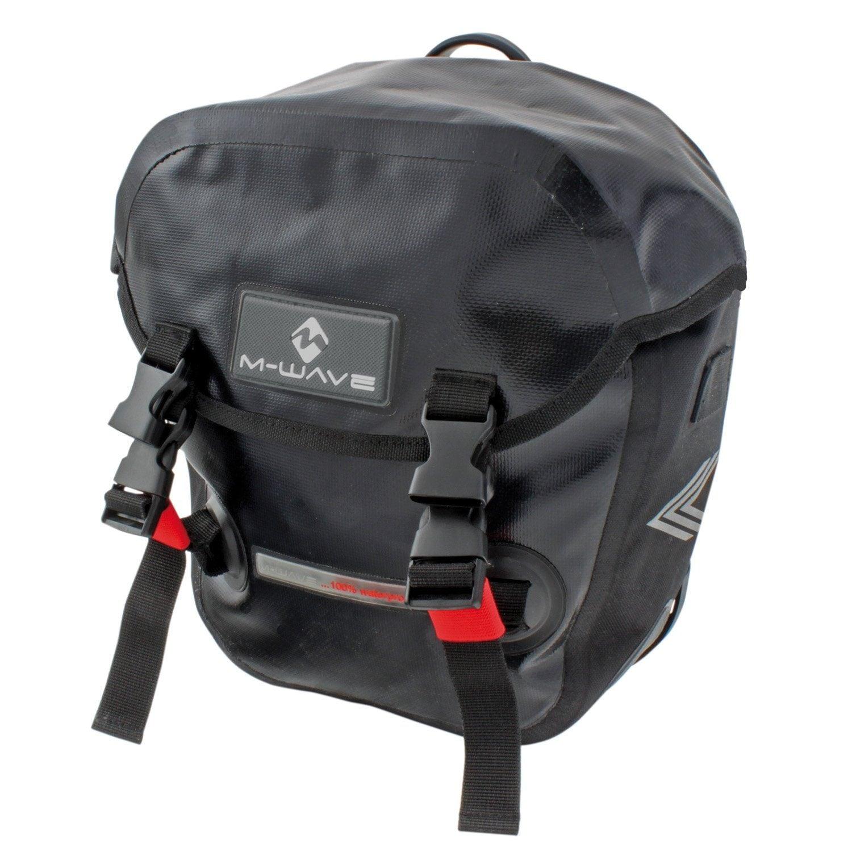 M-WAVE Gepäckträgertasche Manitoba Technik & Freizeit/Sport & Freizeit/Fahrräder & Zubehör/Fahrradzubehör/Fahrradtaschen/Gepäckträgertaschen