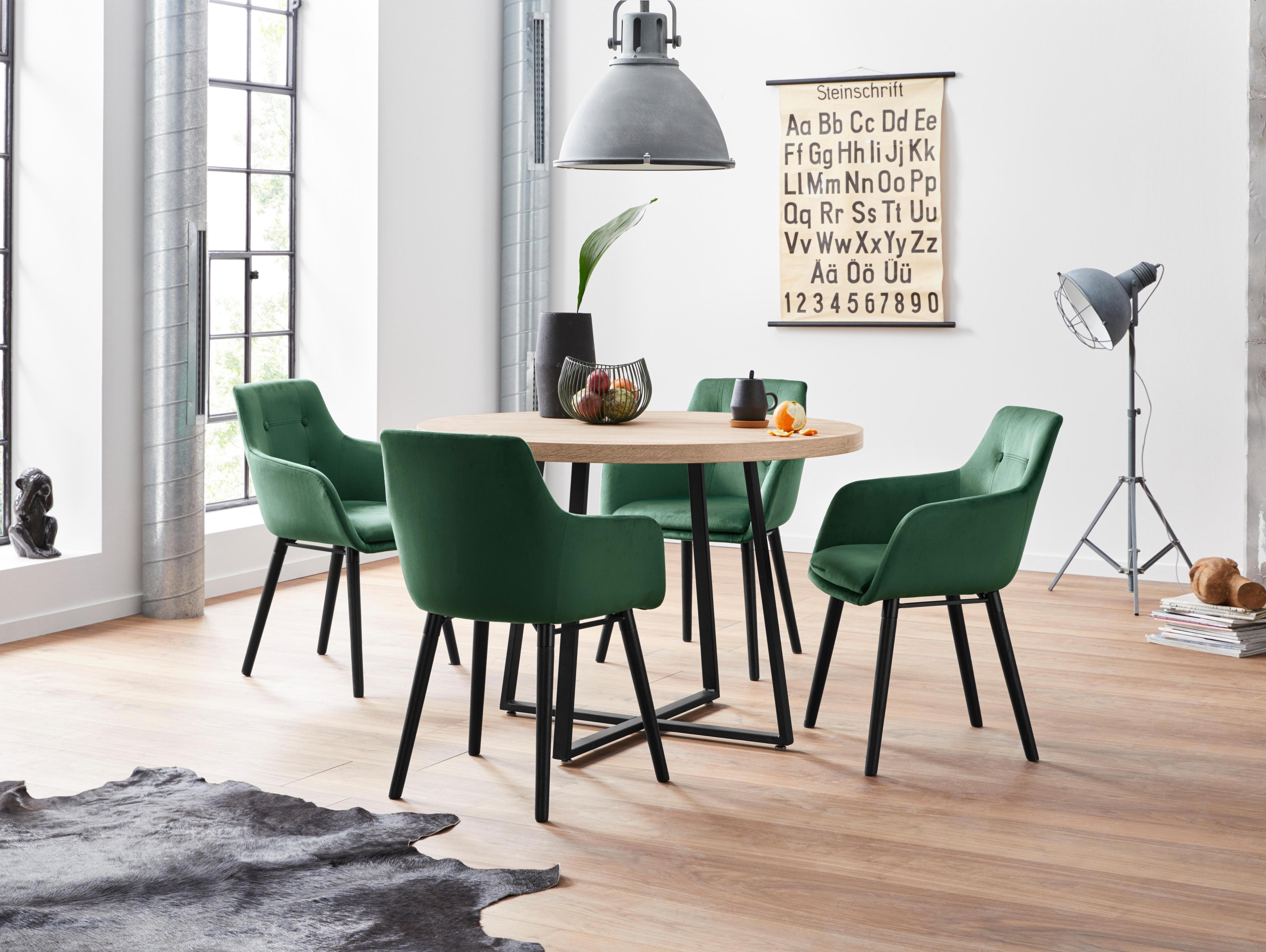 Essgruppe beige Essgruppen Tische Sitzmöbel-Sets