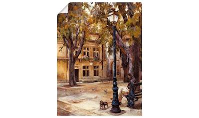 Artland Wandbild »Dorf II« kaufen
