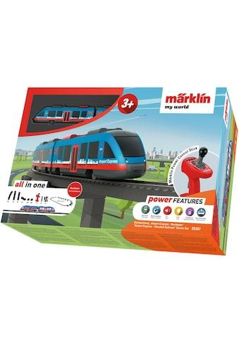 """Märklin Modelleisenbahn - Set """"Märklin my world  -  Airport Express Hochbahn  -  29307"""", Spur H0 kaufen"""