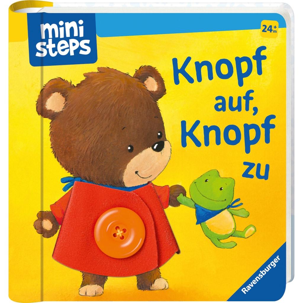Ravensburger Bilderbuch »ministeps®, Knopf auf! Knopf zu!«, FSC® - schützt Wald - weltweit