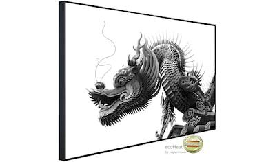 Papermoon Infrarotheizung »Chinesischer Drache Schwarz & Weiß«, sehr angenehme... kaufen