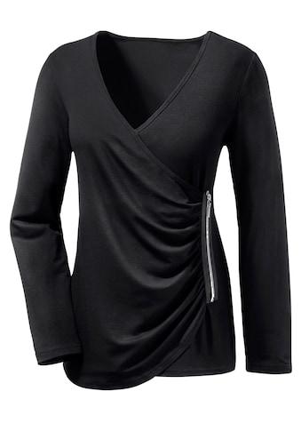 Ambria Longshirt mit V - Ausschnitt kaufen
