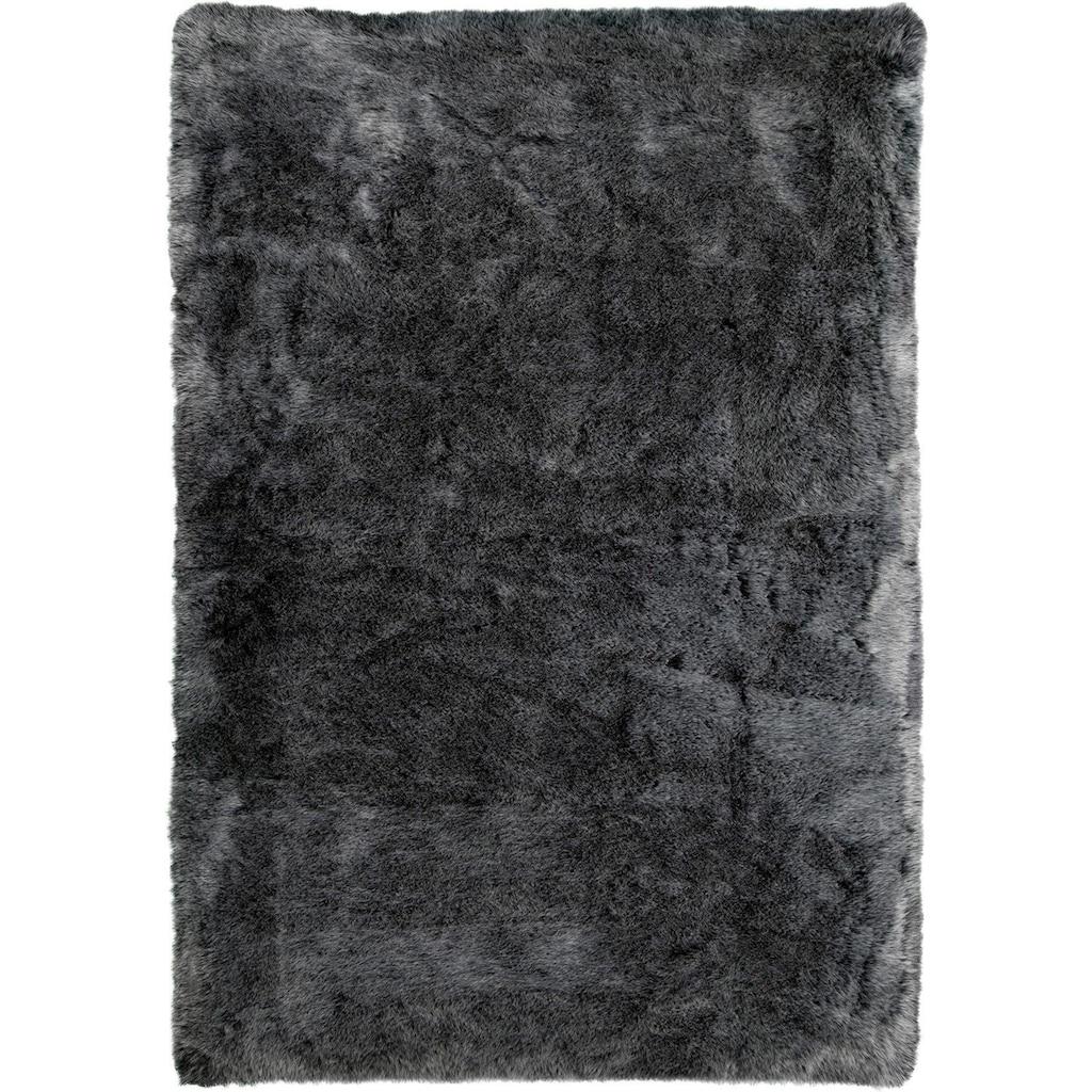 Obsession Fellteppich »My Samba 495«, rechteckig, 40 mm Höhe, Kunstfell, ein echter Kuschelteppich