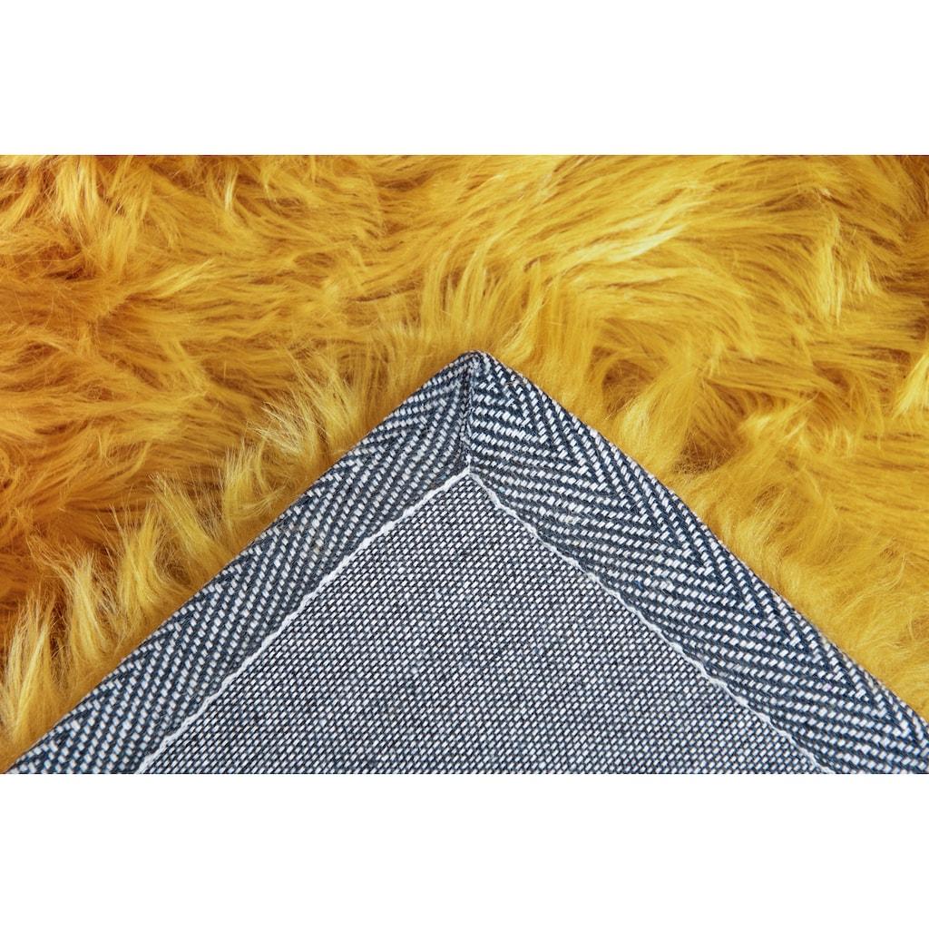 Andiamo Fellteppich »Ovium«, rechteckig, 60 mm Höhe, Kunstfell, Wohnzimmer