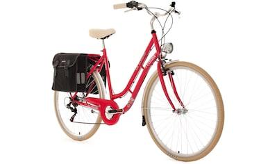 KS Cycling Cityrad »Verona«, 6 Gang, Shimano, Tourney Schaltwerk, Kettenschaltung kaufen