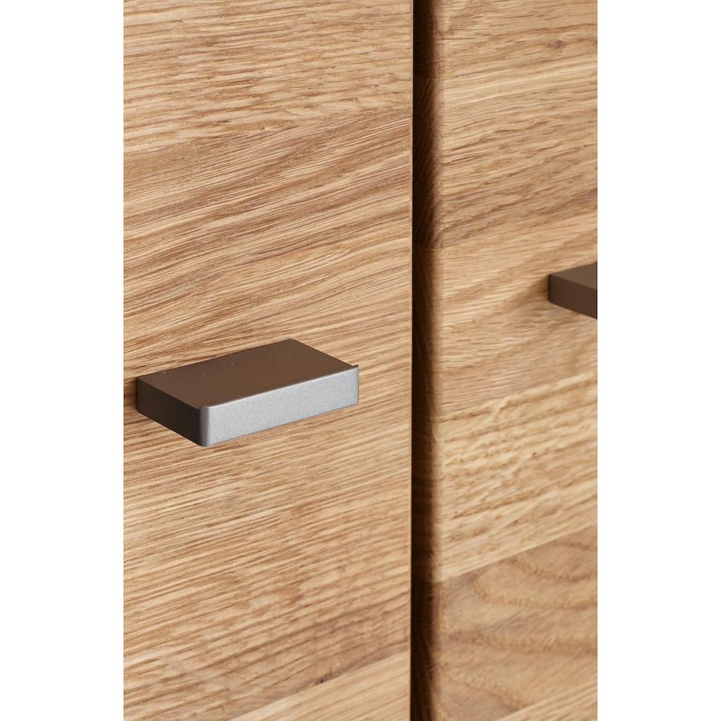 GWINNER Highboard »SOLANO«, Lack weiß, 2-türig, Breite 130 cm