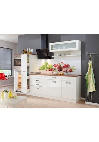 HELD MÖBEL Küchenzeile »Fulda«, mit E-Geräten, Breite 270 cm kaufen