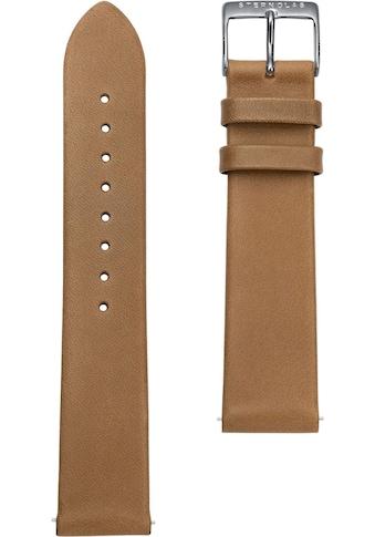 STERNGLAS Uhrenarmband »Premium 20 braun silber, SBA00/100« kaufen