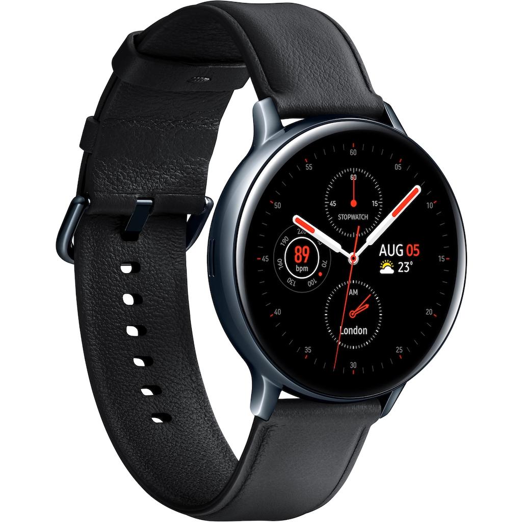Samsung Smartwatch »Galaxy Watch Active2 Edelstahl, 44 mm, LTE & Bluetooth (SM-R825)«,