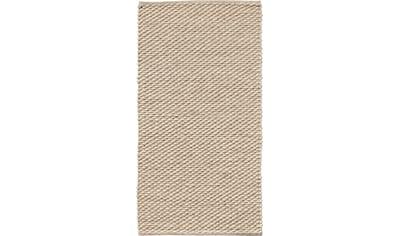 Dekowe Wollteppich »Ilda«, rechteckig, 14 mm Höhe, reine Wolle, handgewebt, Wohnzimmer kaufen