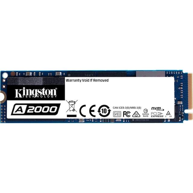 Kingston »A2000 NVMe PCIe« SSD