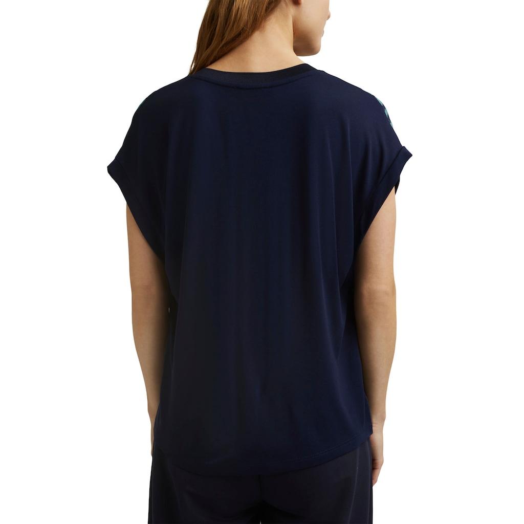 Esprit Collection Blusenshirt, mit floralem Muster Print