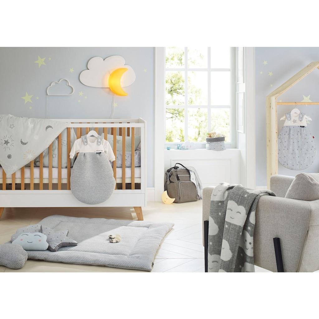 s.Oliver Junior Kinderbettwäsche »Sternenhimmel«, mit Stern- und Mondmuster