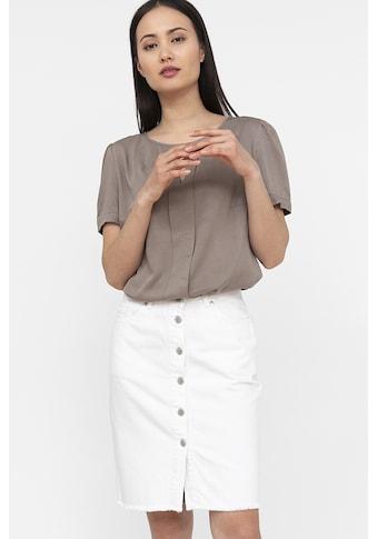 Finn Flare Klassische Bluse, mit kurzen Ärmeln kaufen