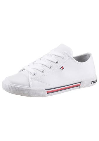TOMMY HILFIGER Sneaker, mit Logoverzierung kaufen