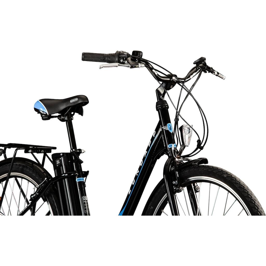 Zündapp E-Bike »Z505«, 6 Gang, Shimano, Tourney, Heckmotor 250 W
