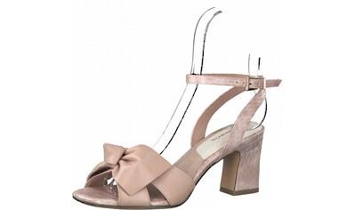 Tamaris Sandalette, mit auffälliger Schleife kaufen